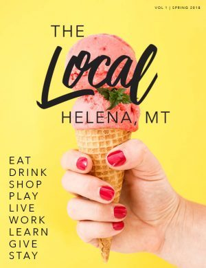 2018 the local helena magazine cover publication